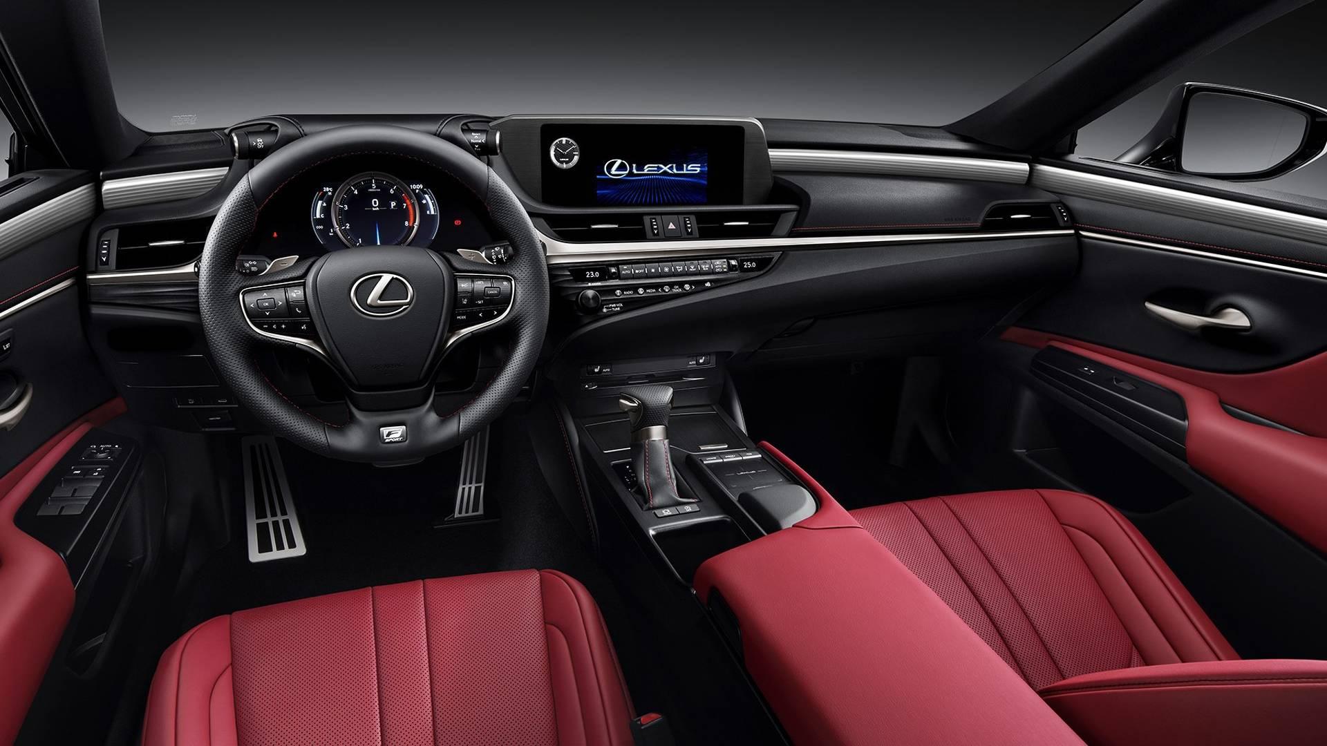 Nový Lexus ES (2019): více luxusu a nová technika | Auta a ...