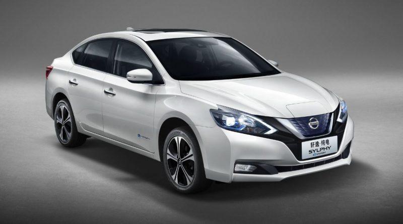 Nissan Sylphy: nový elektromobil oficiálně