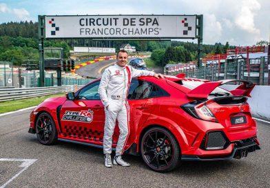 Honda Civic Type R pokořila rekord okruhu ve Spa