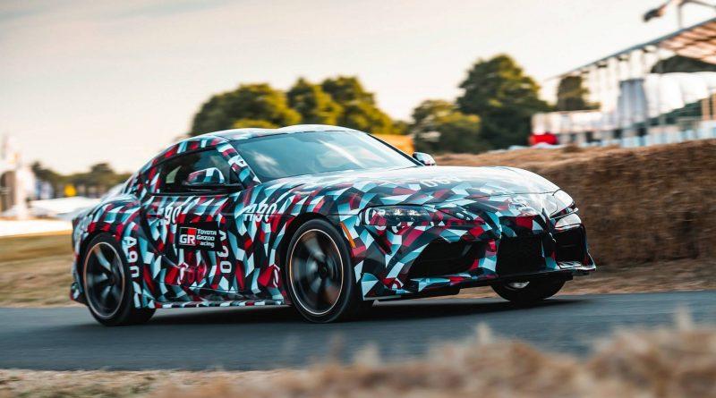 Toyota Supra: potvrzen čtyřválcový motor