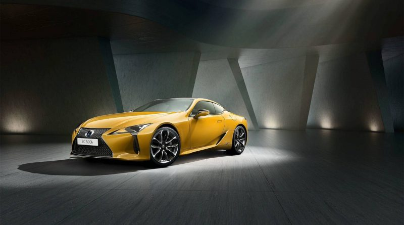 Lexus LC Yellow Edition: nic pro introverty
