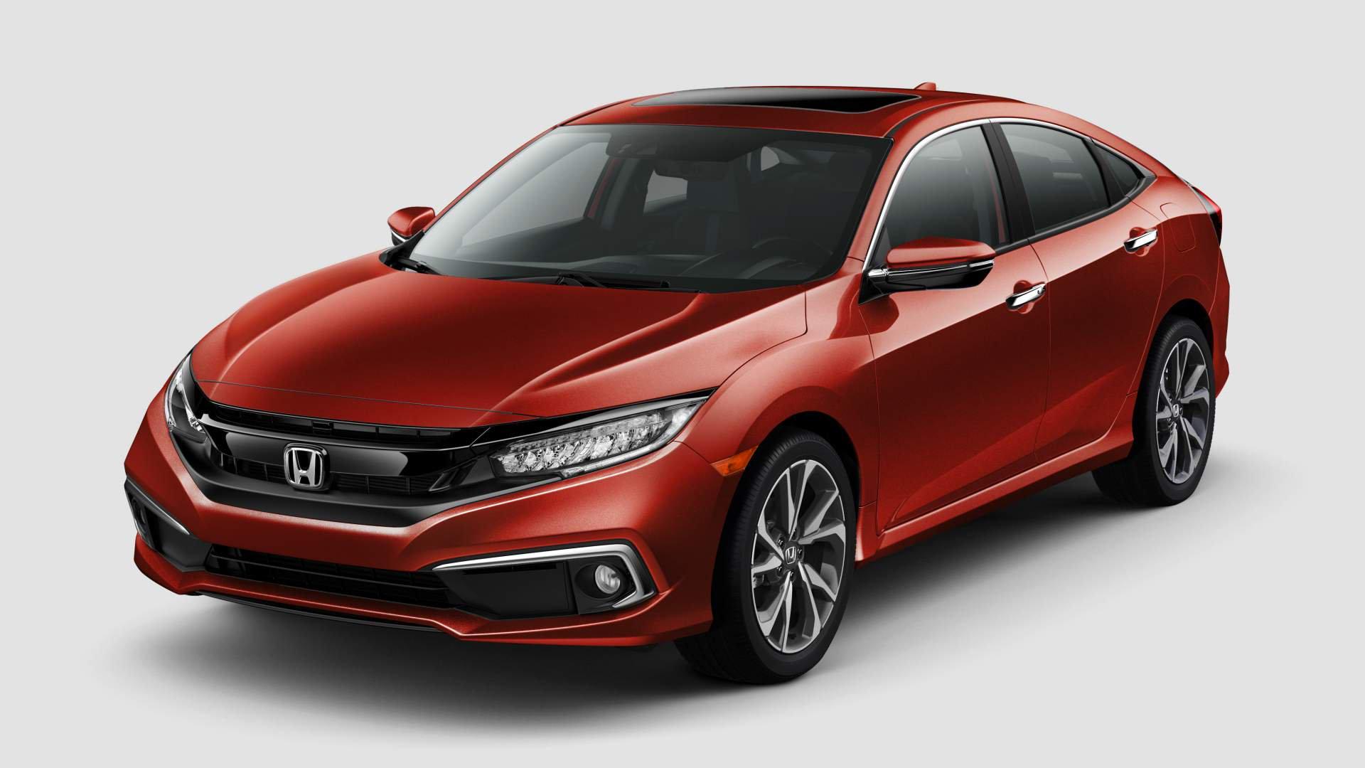 Honda Civic (2019): facelift pro sedan a kupé | Auta a ...
