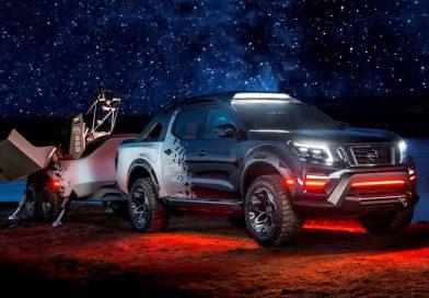 Nissan Navara Dark Sky Concept: E.T. volat domů