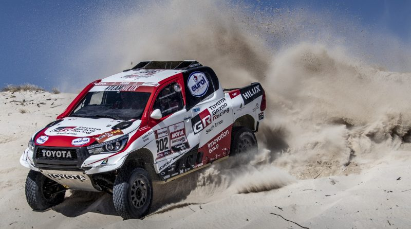 Dakar 2019 Stage 7: Honda a Toyota stále v čele!