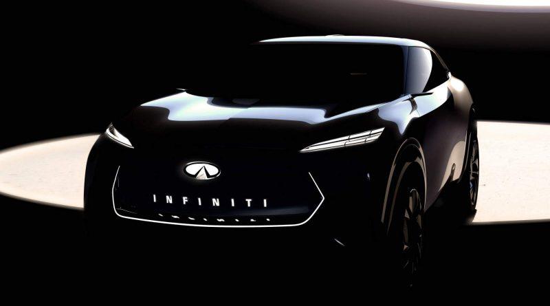 Infiniti: teaser svalnatého crossoveru pro Detroit