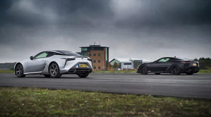 Lexus LC 500: o kolik je pomalejší, než LFA?