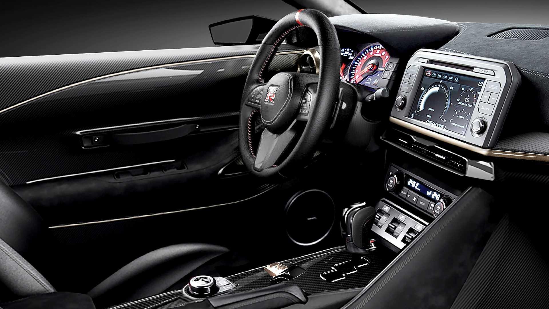 Nissan Gt R50 Jde Do V 253 Roby Takhle Bude Vypadat Produkčn 237