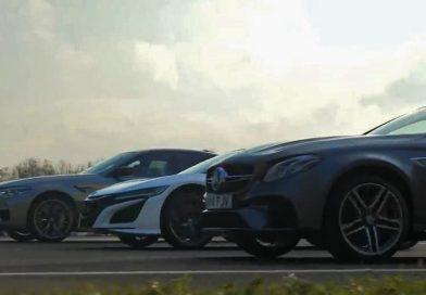Honda NSX: když supersport zpráskají manažerské sedany…