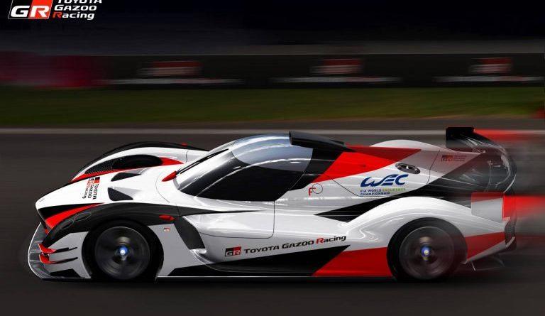 Toyota: takhle bude vypadat závodní Le Mans Hypercar!