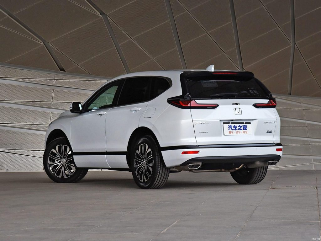 Honda Breeze: ostřejší brácha CR-V | Auta a motorky z Japonska