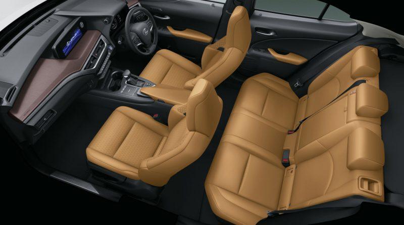 Lexus UX250h Brown Edition: nóbl speciál pro JDM