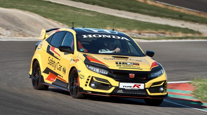 Honda Civic Type R Limited: safety car WTCR 2020