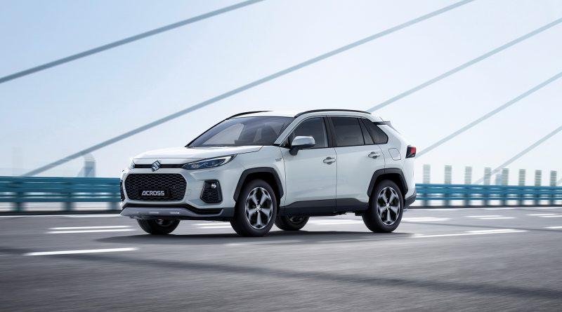 Suzuki Across: plug-in hybrid od Toyoty