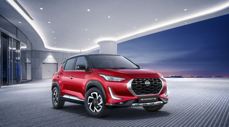 Nissan Magnite: malý crossover představen v produkční verzi
