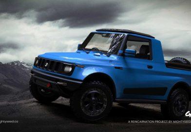 Suzuki Jimny jako stylový pick-up? Do Evropy ideál… ;-)