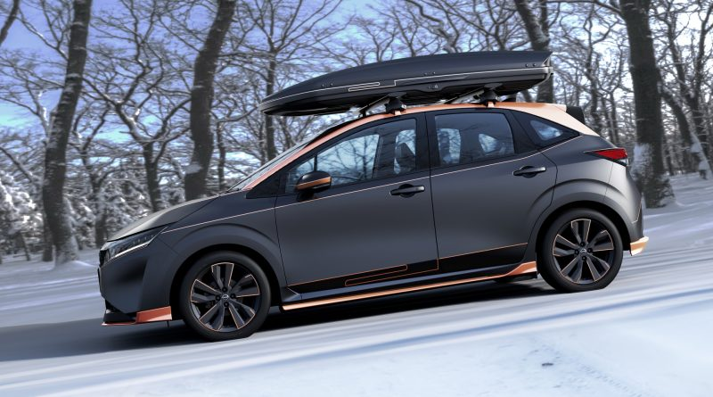Nissan Note Play Gear: vypadat cool je cool