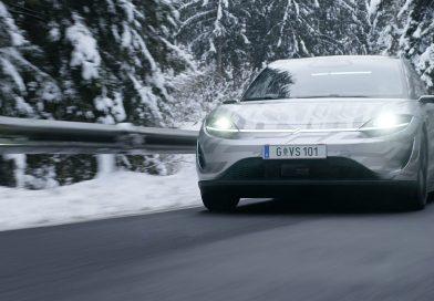 Sony Vision-S: vývoj elektromobilu pokračuje silničními testy!