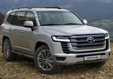 Toyota Land Cruiser 2022: takhle bude vypadat nová generace
