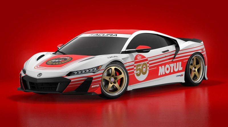 Honda NSX Type S: supersport v retro zbarvení Motul
